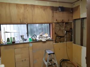 キッチン撤去