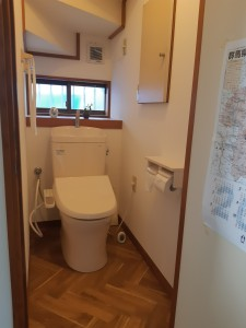一階トイレ(完)